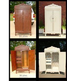 interior, idea, armoir, furnitur refurbish, refurbish furnitur, furniture, diy, refurbished wardrobe, furnitur reburish