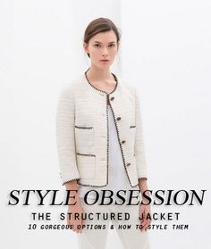 10 Jackets for Spring and Summer