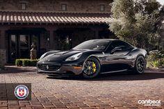 Ferrari California with HRE Wheels
