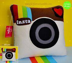The Instagram Pillow by FD.FOREVER, via Flickr