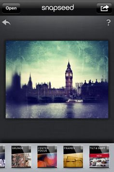 Snapseed is our favorite mobile photo editing program--use, then still share via Instagram.
