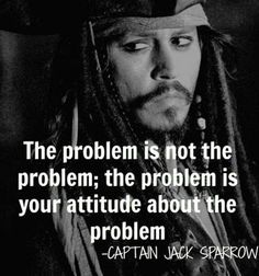 The problem is not the problem... #quotes