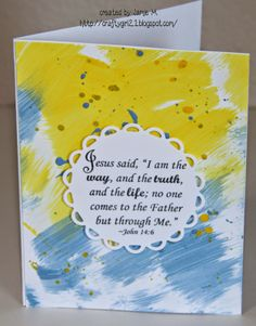 Crafty Girl 21!: Summer Scripture Cards