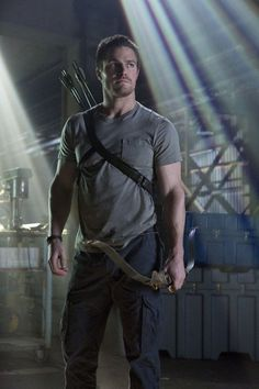 Stephen Amell in Arrow