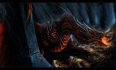 Smaug the Magnificent by Isvoc.deviantart.com on @deviantART
