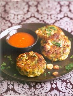 Zucchini and Corn Cakes #MeatlessMonday