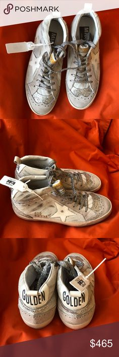 New Golden Goose Zebra Glitter Midstar Sneakers Stunning Golden Goose Midstar Zebra Glitter sneakers - brand new with tags attached, original box and shoe bag. Size 36. Golden Goose Shoes Sneakers