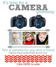 Camera Giveaway – You and a friend could win a Canon Camera!! | How Does She