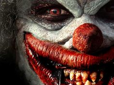 Can't sleep... the clowns will eat me  I hate clowns.. happy sad whatever they creep me out.. icky!