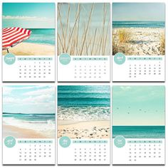 2014 calendar photography nautical 4x6 5x7 deskcalendar