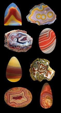 agate slices~ Love agate.