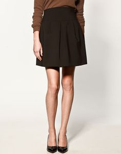 Perfect length and shape to wear with textured stockings and boots or booties.