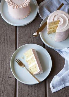 Rose Orange and Cardamom Layer Cake