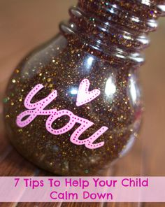 7 Tips To Help Your Child Calm Down #parenting