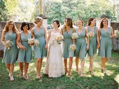 A soothing palette | St Augustine Florida Wedding from Julie Cate Photography  Read more - http://www.stylemepretty.com/florida-weddings/2013/10/30/st-augustine-florida-wedding-from-julie-cate-photography/