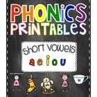 This products include 5 printables for each vowel and also 5 mixed practice printables. You can use these in your classroom in a variety of ways- h...