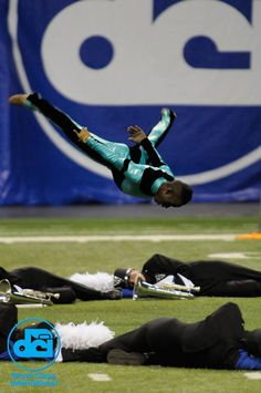 The Blue Knights Drum Corps; picture courtesy of Drum Corps International