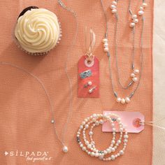 A girl can never have enough pearls—even on the big day! #wedding Find these pieces for your wedding at www.mysilpada.com/jasmin.bevolas