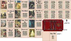 books, mini book, picasa, dollhous, book miniatur, book printi, miniatur printabl, mini printi, miniatur book
