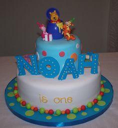 Winnie the pooh b-day cake