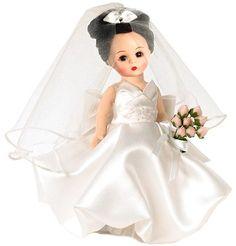 Madame Alexander Dolls - Bride to Be Brunette - by Matilda Dolls