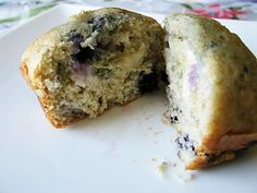HEALTHY Muffins blueberry cream cheese