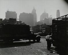 City Vista, West Street, looking east, Manhattan. (August 12, 1938). NYPL Digital Gallery.