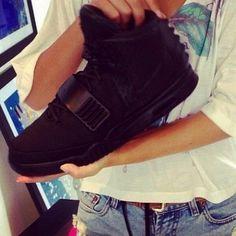 Nike Air Yeezy 2 Black