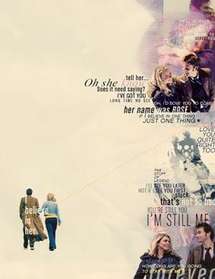 Rose Tyler + The Doctor
