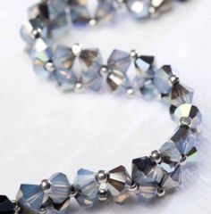 Diamond Chain Bracelet from Diane Fitzgerald's Favorite Beading Projects