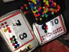 Math Groups/Rotations-Magnetic Numbers| Mrs. Cardenas' Bilingual Prek Classroom