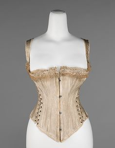 """Queen Bess"" - Royal Worcester Corset Company, 1876 - The Metropolitan Museum of Art"