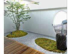 Modern Japanese landscaping and gardens by wa-so design