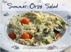 Sweet Pea: Summer Orzo Salad