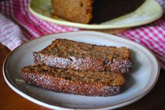 Brown Butter Ginger Banana Bread Sliced - The Duo Dishes