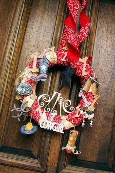 Barn yard bash wreath