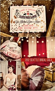Bella Umbrella Blog - Elegance of Yesterday Re-Imagined for Today - You're Invited: Vintage Circus Wedding Gala for Get Hitched GiveHope