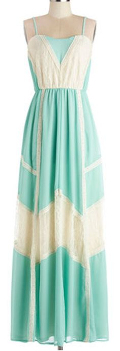 #Mint and cream #maxidress http://rstyle.me/n/gadjvnyg6