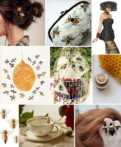 Mood Board Monday: Bees (http://blog.hgtv.com/design/2013/06/24/mood-board-monday-bees/?soc=pinterest)