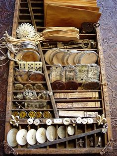 Junk display for Altered ARts...