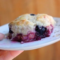 Blueberry Buttermilk Biscuits recipe