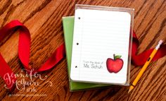 printable cards for teachers from Jennifer McGuire