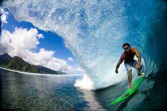 Kalani Chapman, Tahiti. Photo: Noyle #SURFER #SURFERPhotos