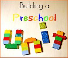 Building unit studies for preschoolers