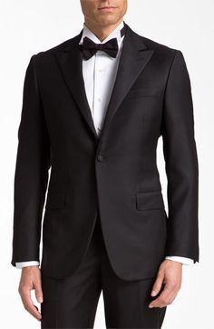 Doesn't get much better than a man in a great tux! Sharp, polished + timeless tux. That Hickey Freeman sure knows how to make a guy look great.  Nordstrom.
