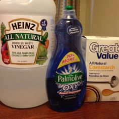 Need cleaning ideas? Soap scum remover! Works really well!