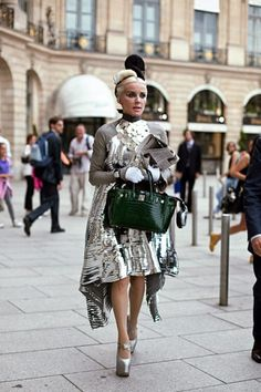 Daphne Guinness. Pure amazingness. She embodies fierceness that no one else can even touch.