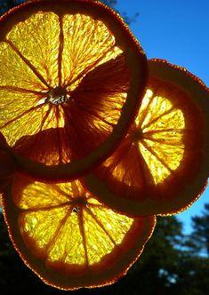Orange Slices, A Little Slice of Heaven