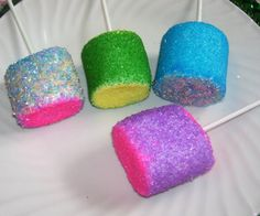how to make sugar coated marshmallows