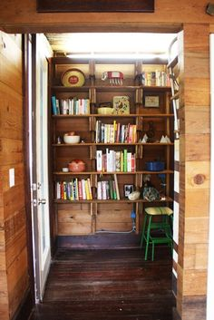pantry organization — Erin's Warm & Wood-Wrapped Austin Budget Bungalow   Apartment Therapy